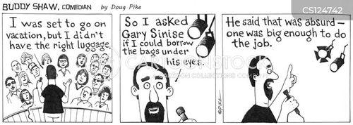 stand-up comedy cartoon