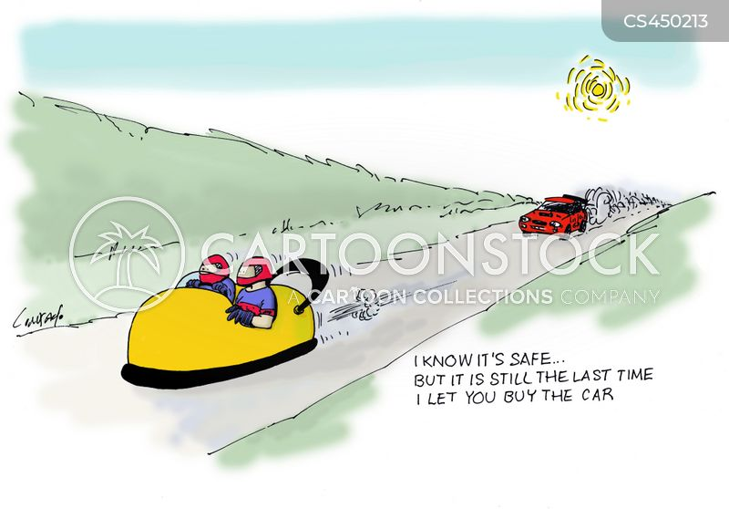 car buyers cartoon