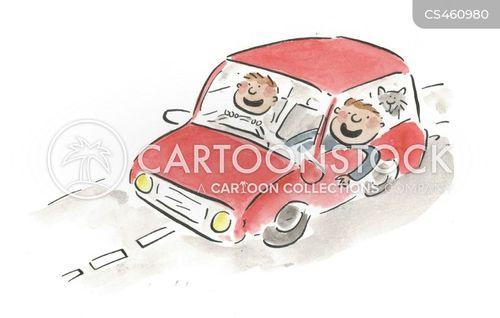 carpools cartoon