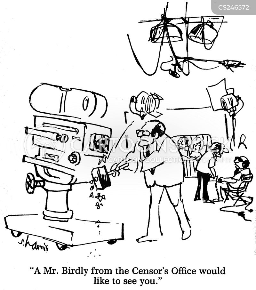 restricts cartoon
