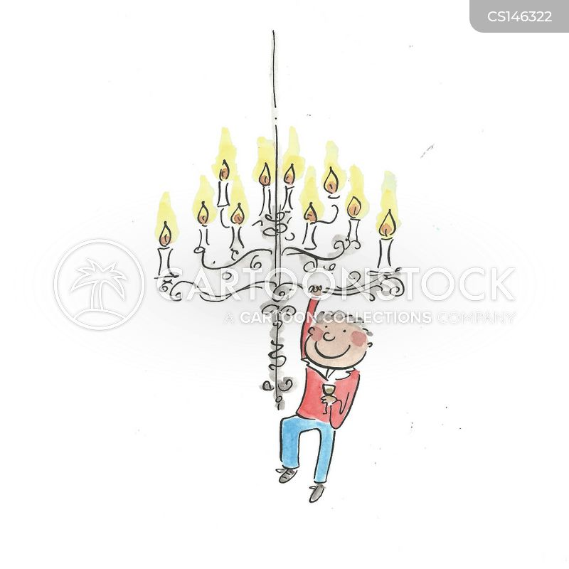 Crystal chandelier cartoons and comics funny pictures from hanging from a chandelier mozeypictures Gallery