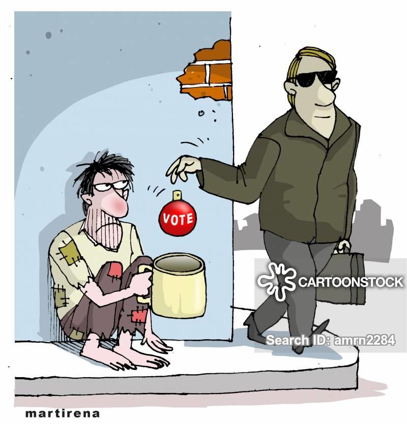 disenfranchised cartoon