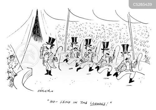 ring leader cartoon