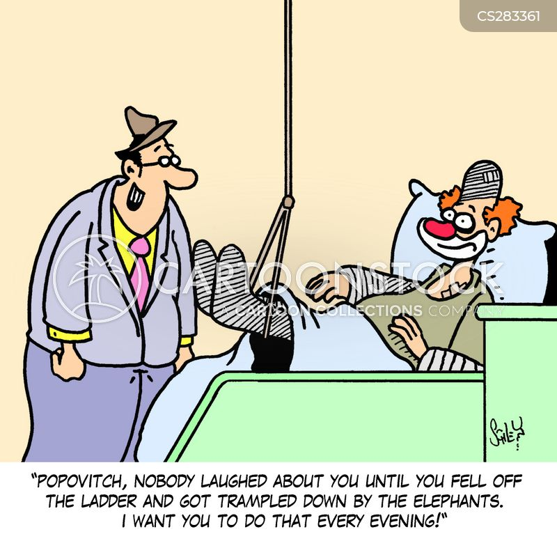 theatre director cartoon