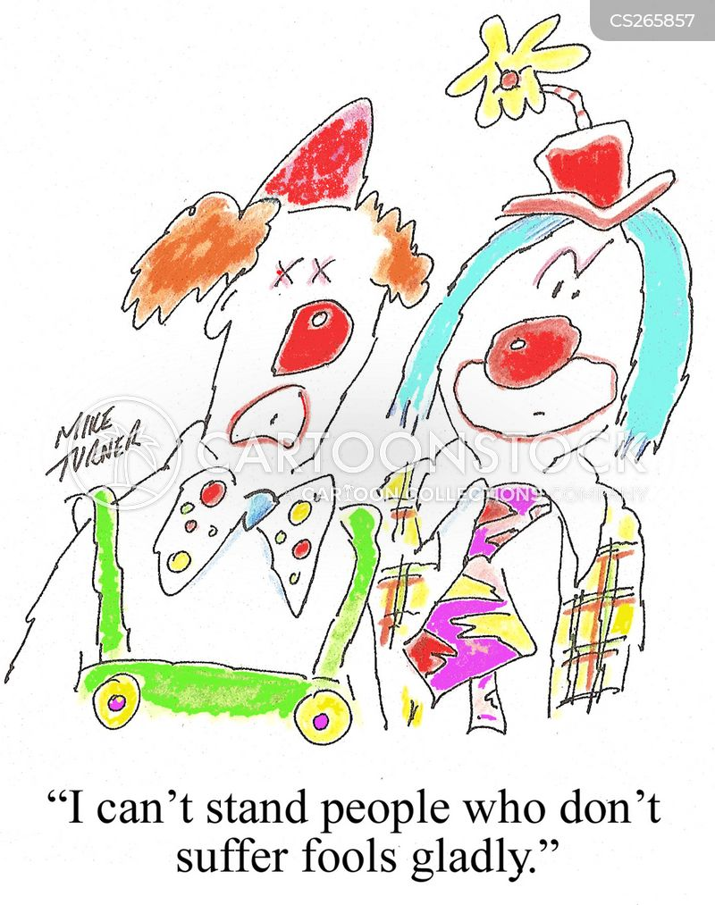 red noses cartoon
