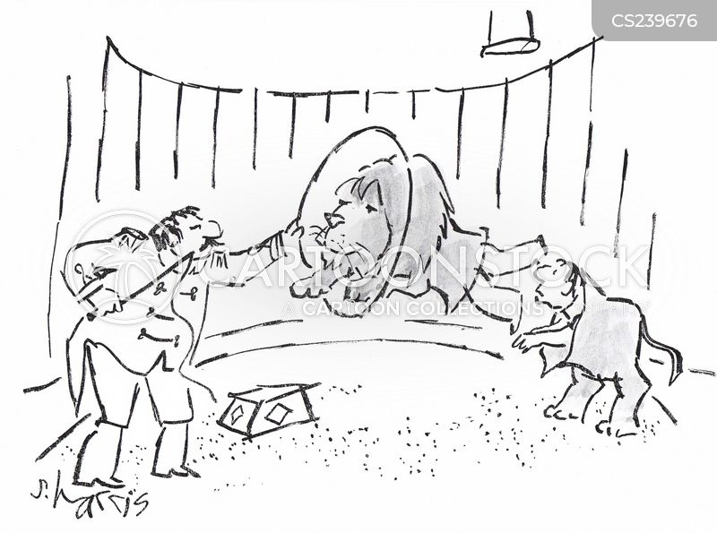 Lion Trainers cartoons, Lion Trainers cartoon, funny, Lion Trainers picture, Lion Trainers pictures, Lion Trainers image, Lion Trainers images, Lion Trainers illustration, Lion Trainers illustrations