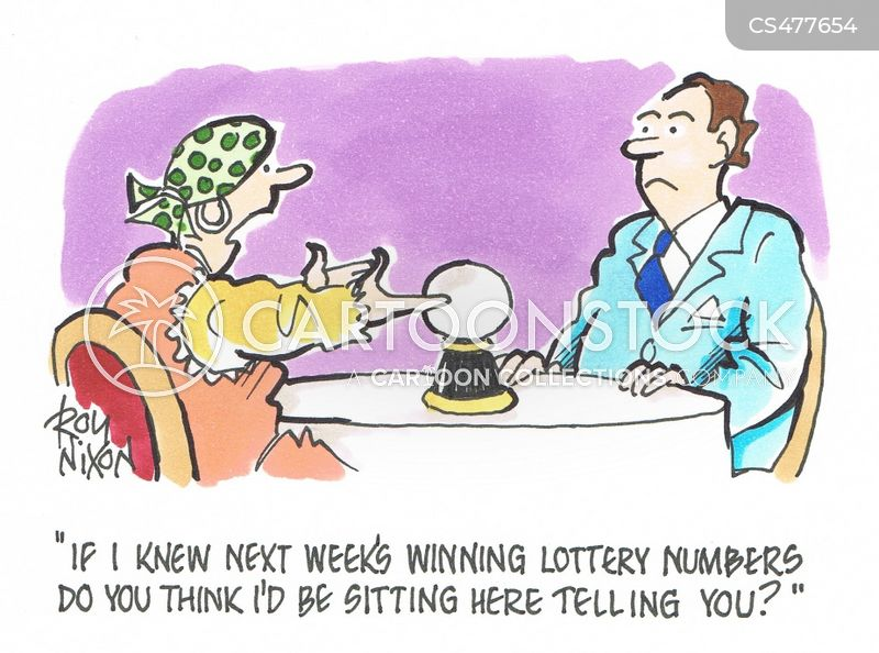 Lottery Numbers Cartoons and Comics - funny pictures from