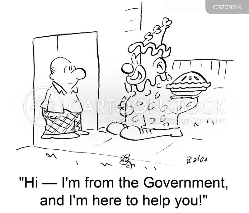 government official cartoon