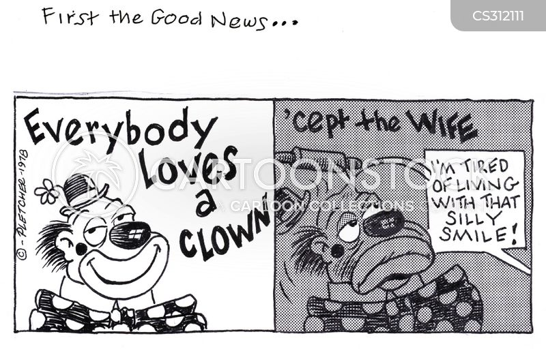 jovial cartoon