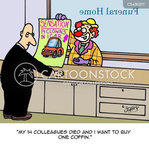 clown car cartoon