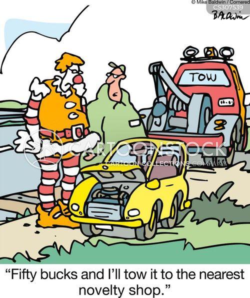 novelty shops cartoon