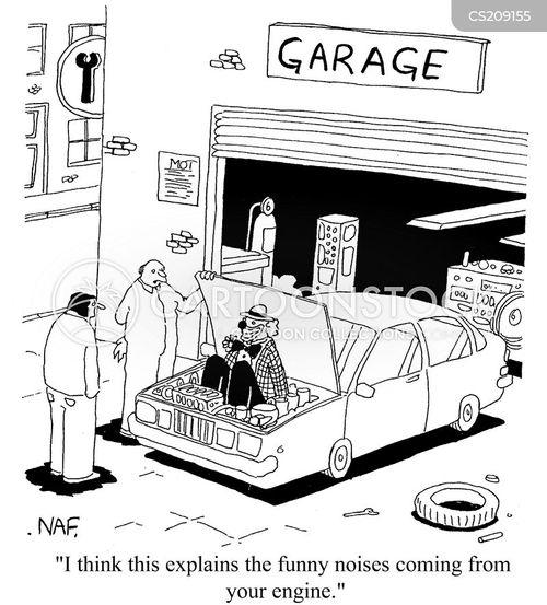 funny noise cartoon