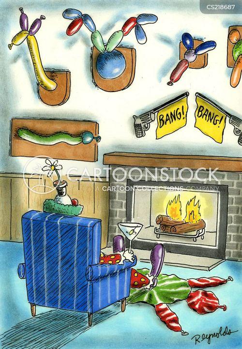 front rooms cartoon