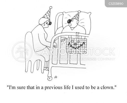previous life cartoon