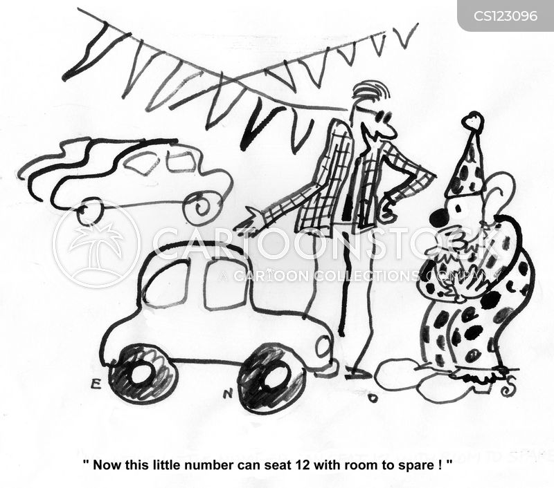 buying cars cartoon