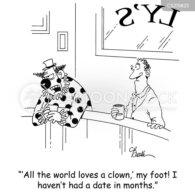 all the world loves a clown cartoon