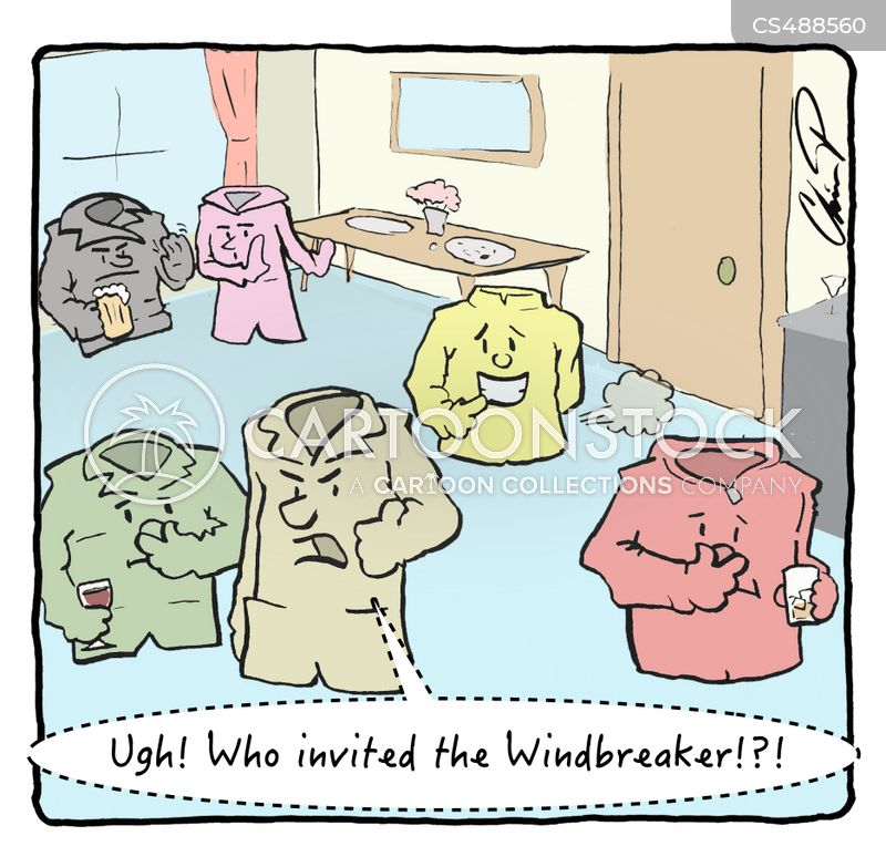 windbreakers cartoon