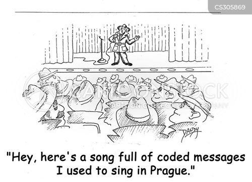 Iron Curtain Cartoon 1 Of 8