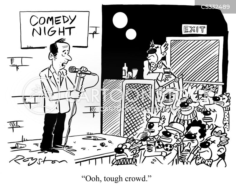 stand up comic cartoon