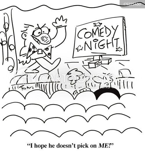 pick on cartoon