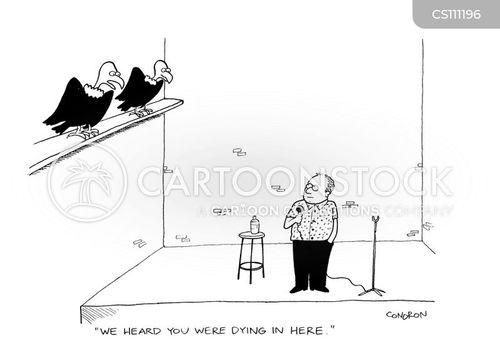 carrion crows cartoon