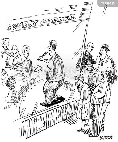 joke telling cartoon