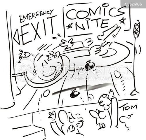 unamusing cartoon