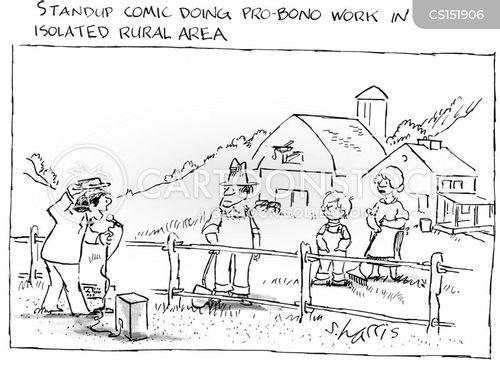rural area cartoon
