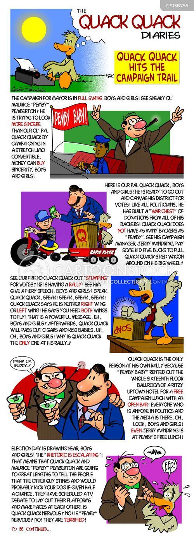 quack quack cartoon
