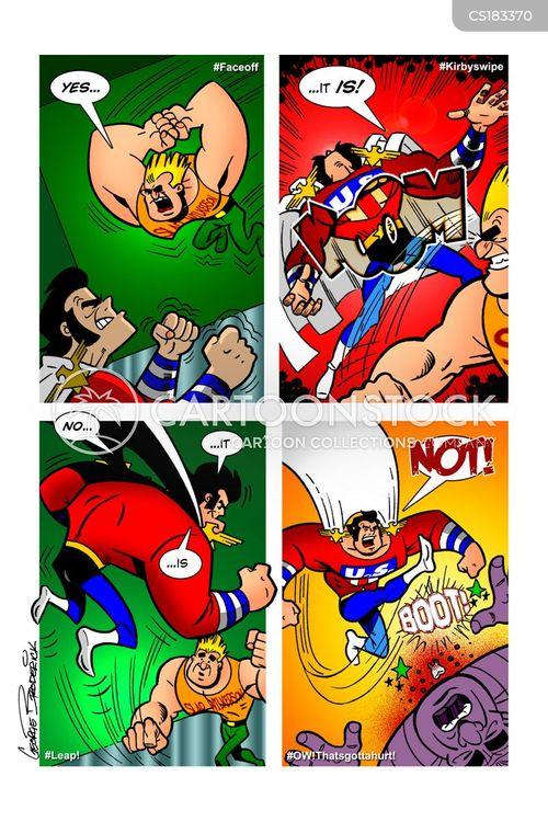 american stereotypes cartoon