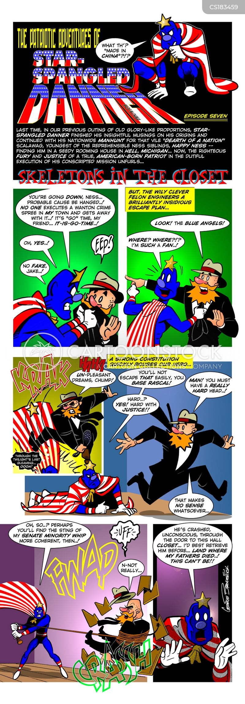 american hero cartoon