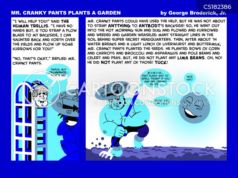 green thumbs cartoon