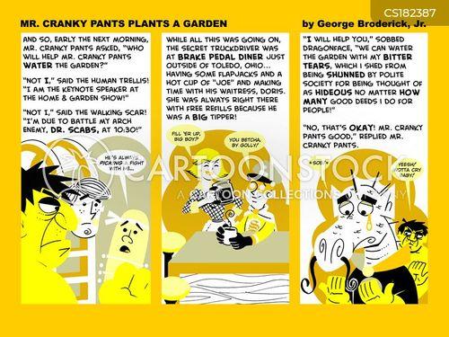 planter cartoon