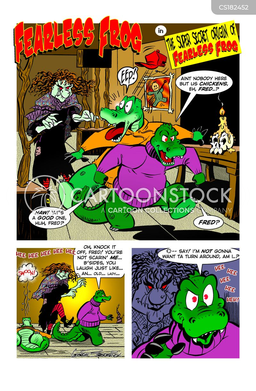 swamp cartoon
