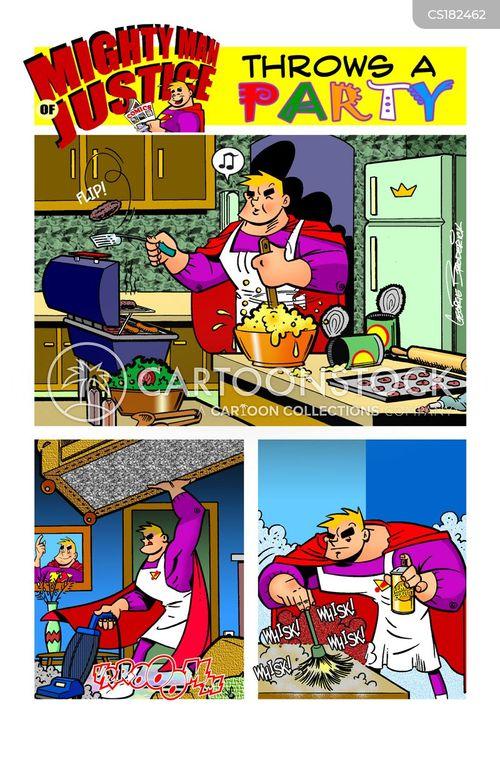 tidies cartoon