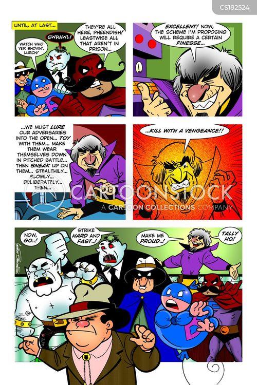 supervillains cartoon