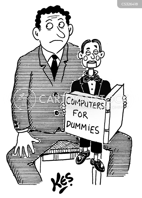 for dummies books cartoon