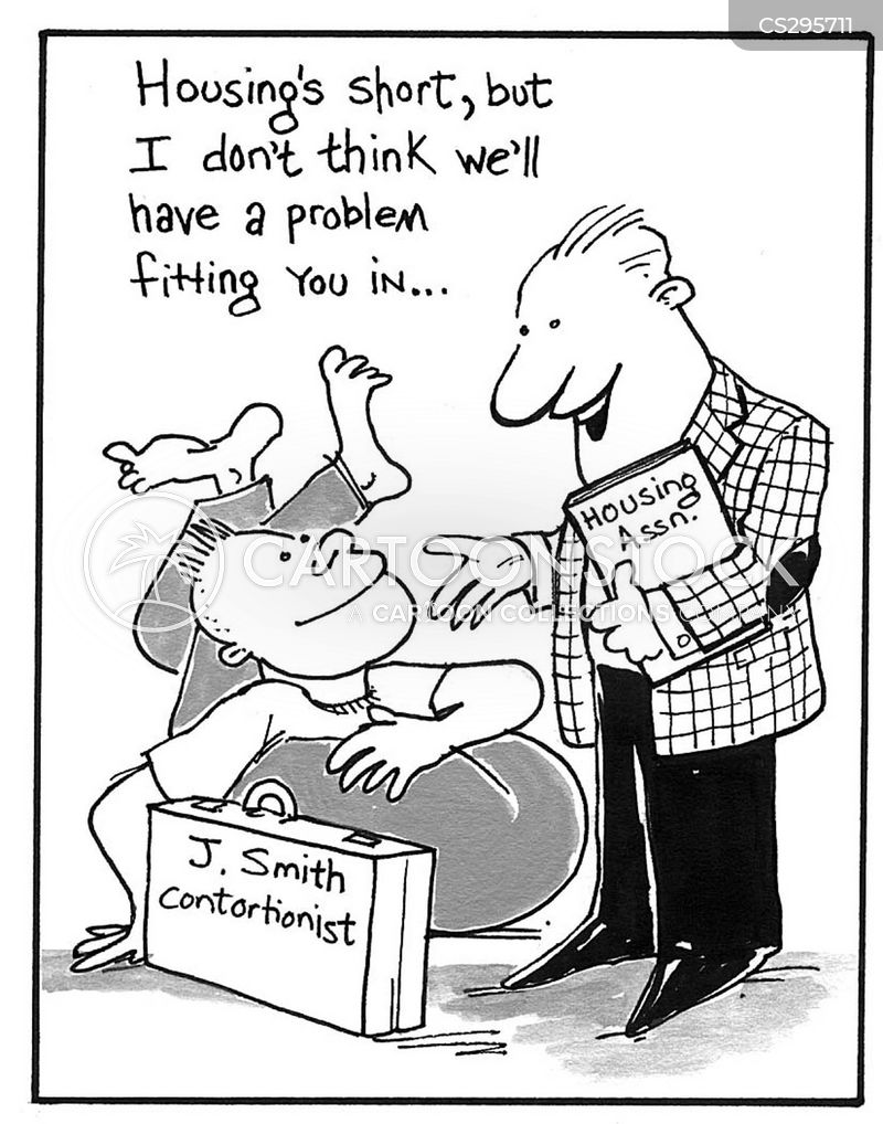 contortionists cartoon