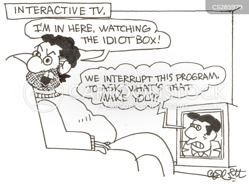 interactive television cartoon