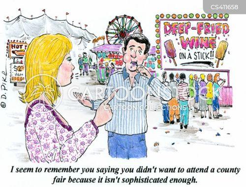 county fairs cartoon