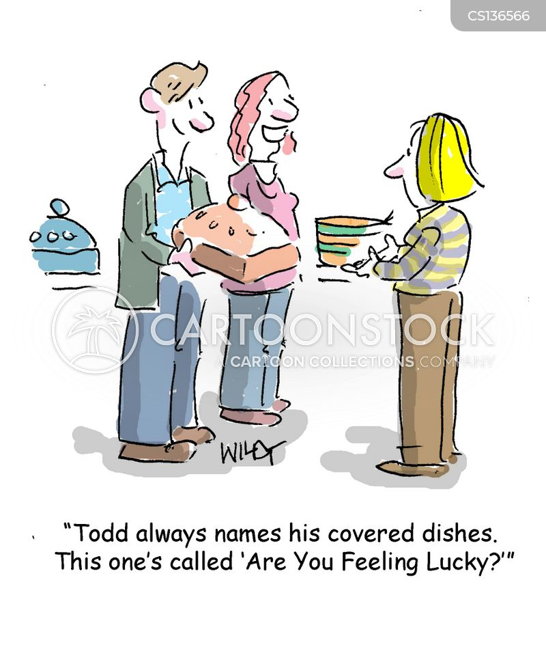 party foods cartoon