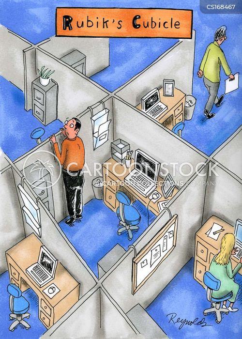 puzzle cartoon