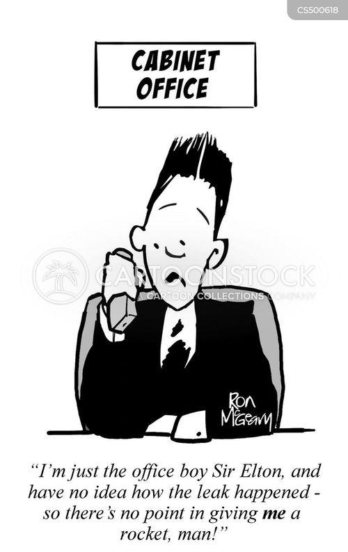 elton john cartoon