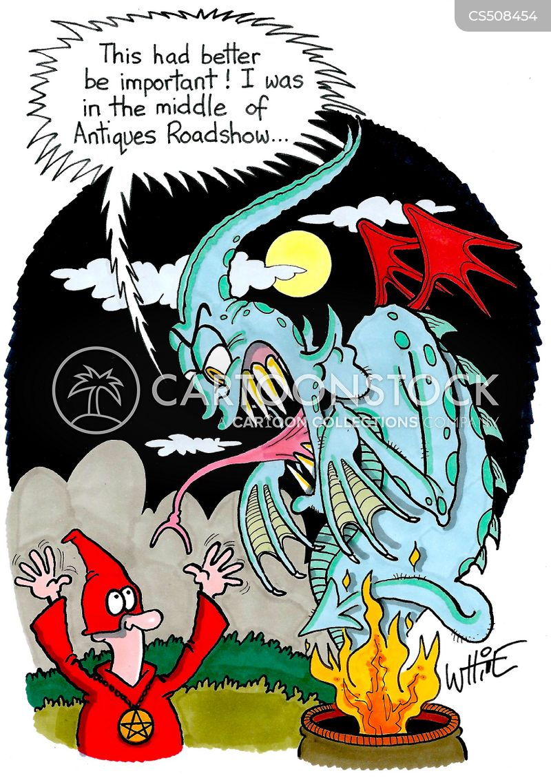satanist cartoon