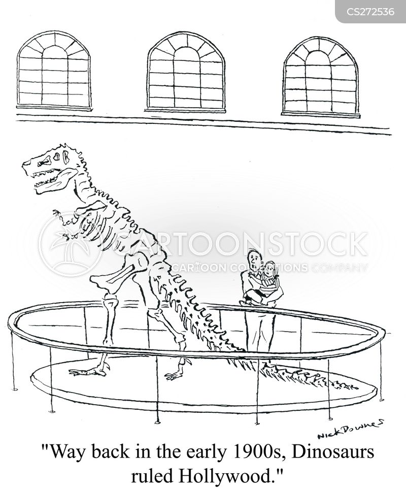 dinosaur bone cartoon