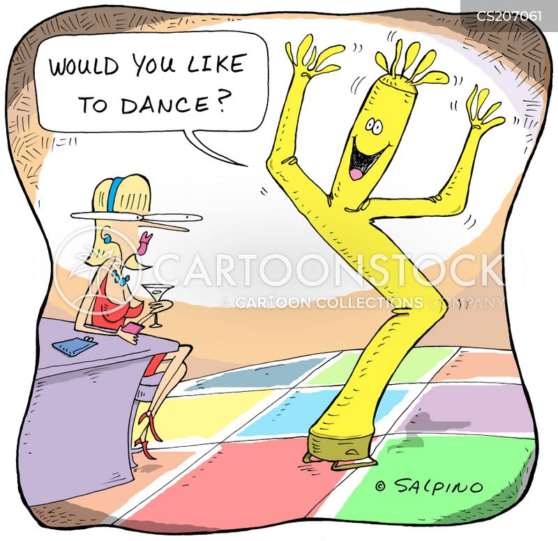 dance partners cartoon
