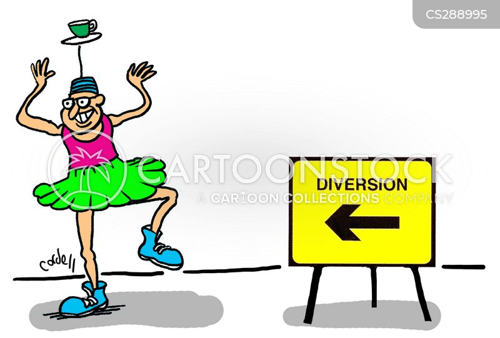 diversions cartoon
