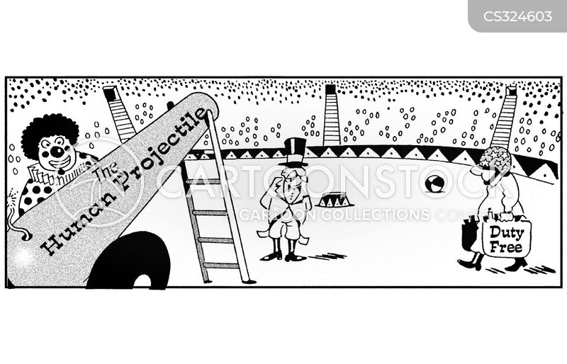 circus rinks cartoon