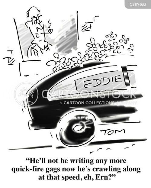 ernie wise cartoon