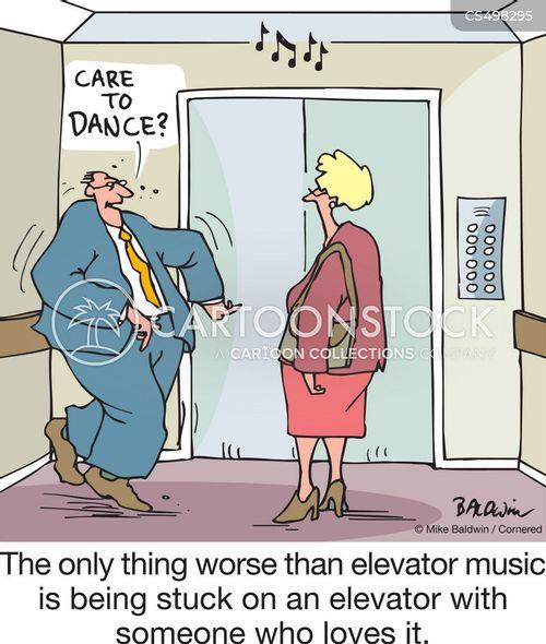 lift music cartoon